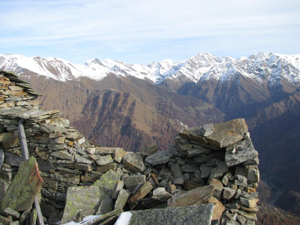Panorama sul vallone di Piamprato