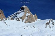 la bella mole del Pic d'Asti vista dal versante O della Cima delle Rossette (19-11-2011)