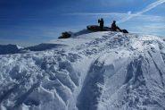 Davide e Franco appena arrivati in cima (19-11-2011)