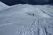 salendo il bel versante Ovest della Cima delle Rossette (19-11-2011)