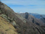 Panorama sulla bassa val d'Ala dal Tourn