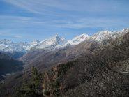 Panorama sull'alta val d'Ala dal Tourn