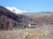 Il vallone si apre (Monte Doubia sullo sfondo)