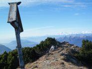 La croce di vetta di Cima Fojorina