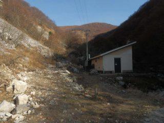 Stazione di pompaggio e vascone di compenso