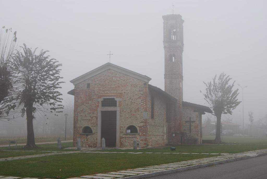 La Chiesetta di S. Maria in Binda a Nosate.