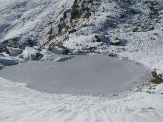 Lago di Feumunt ghiacciato