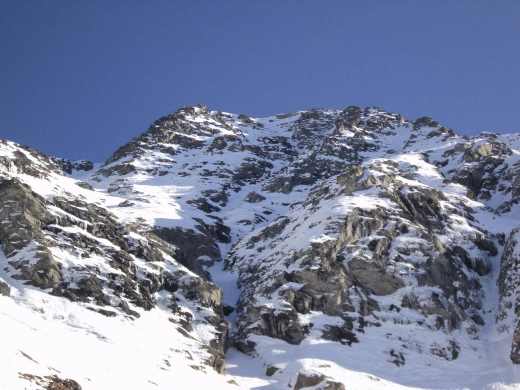 Giusalet o Ciusalet (Monte) o Signal du Clery parete ovest - La riscossa del feudatario 2011-11-23