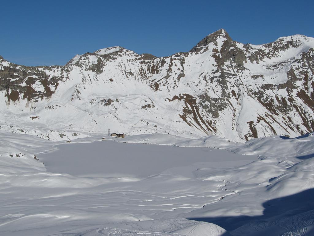 Lago Miserin dall'alto