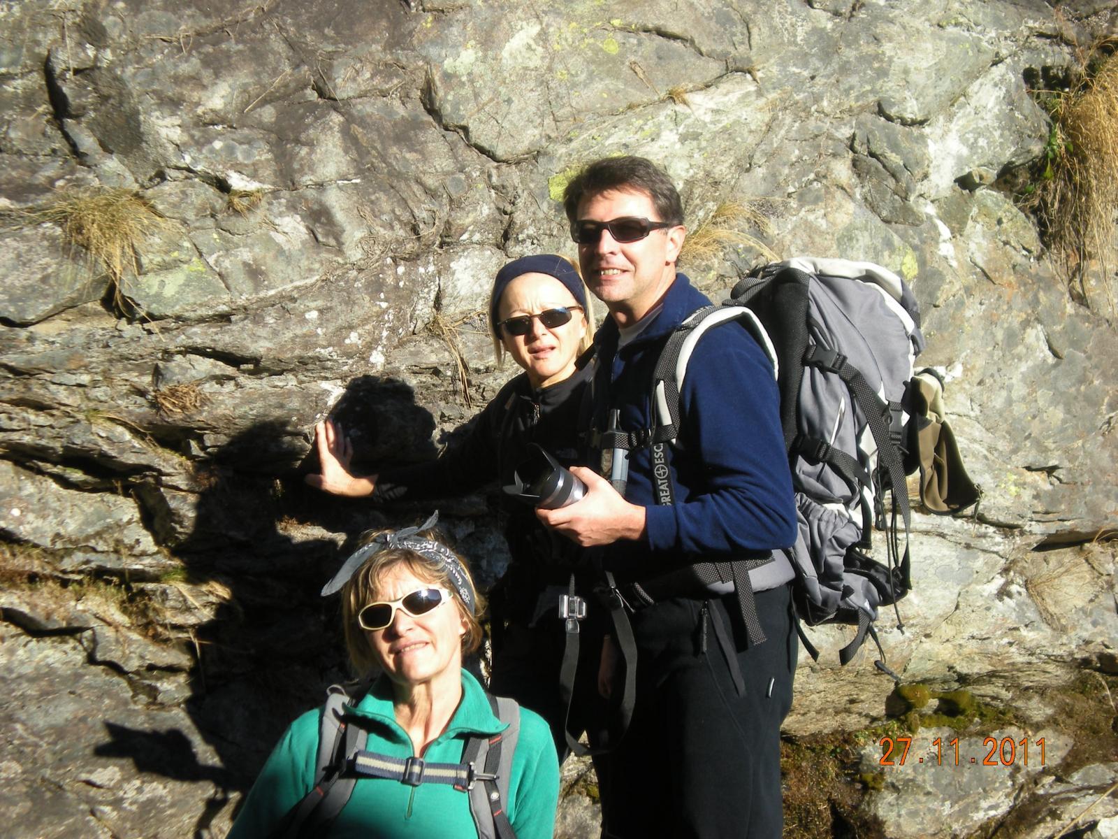 Germana, Patrizia e Fausto