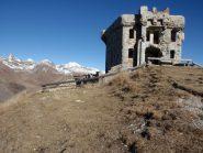 la fortezza sulla cima des 3 Commune