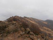02 - la cresta prima della cima