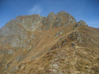 il Castello del Gavala a metà percorso