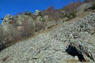 Il sentiero nella pietraia