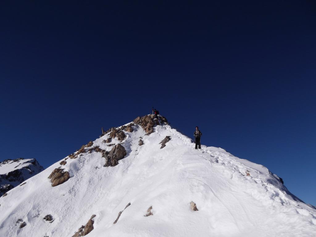 la breve cresta per raggiungere quota 2742