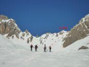verde Colletto - rosso colletto ovest monte Freid