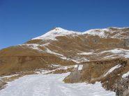 la punta vista prima di arrivare al lago di monastero.