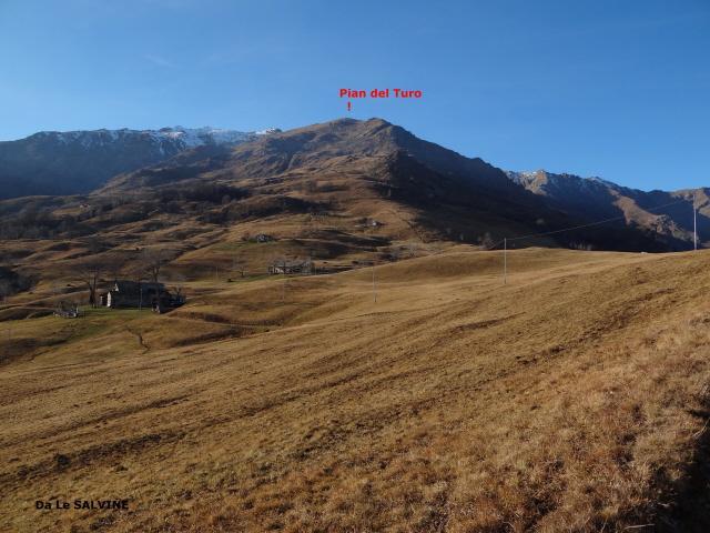 Turo (Pian del) o Truc del Buscajun dal Santuario di Graglia 2011-12-08