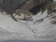 Parte bassa del Vallone di Collalunga e Lago di S.Bernolfo.