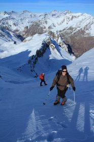 Laura e Raffaele escono al Colle delle Sagneres (10-12-2011)