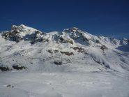 Il monte Albrage e  il Freide