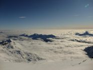 Vista dalla cima del Breithorn