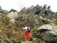 ultimo tratto di roccette: il regno delle vipere...