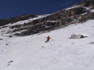 ancora ottima neve nel vallone