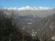 Valle di Ribordone dai roccioni