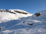 Il Monte Rascias scendendo a valle