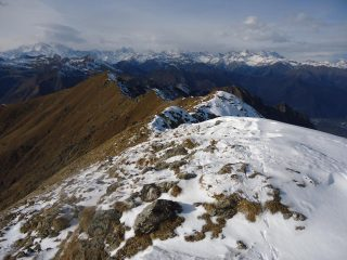panorama verso cima Scaravini