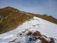 in discesa verso l'alpe Nuova