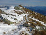 sentiero dall'Eyehorn
