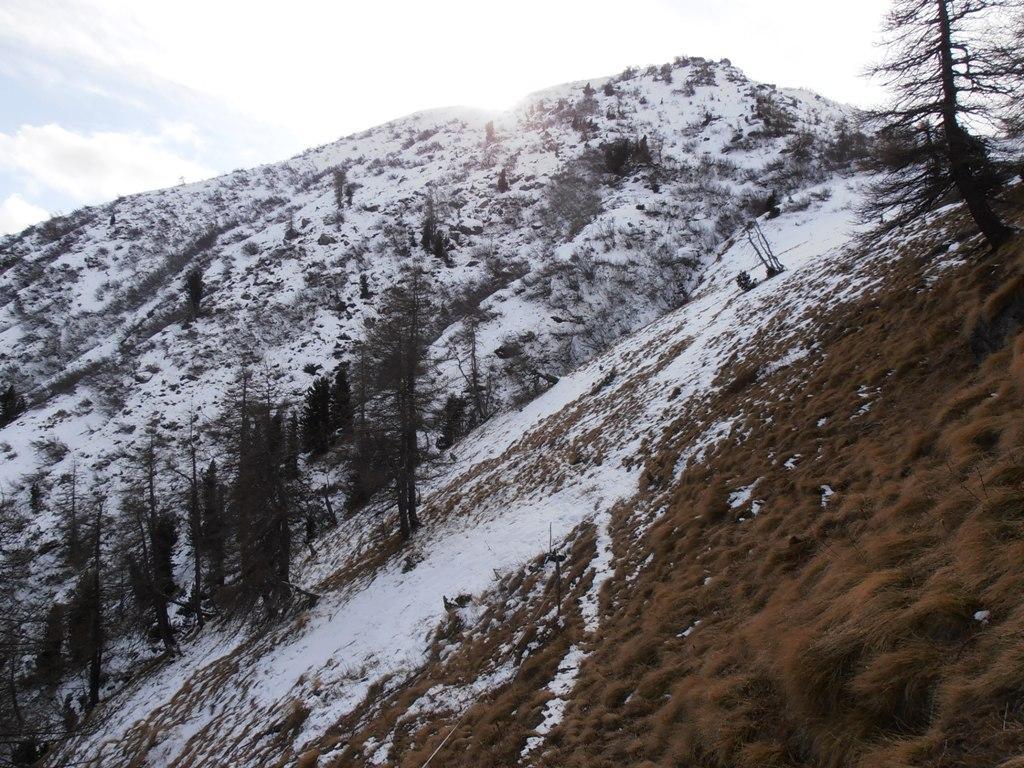 04 - l'ultimo traverso fatto per la cresta