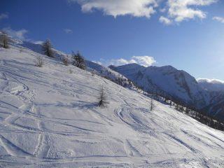 panorama verso la valle argentera