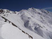 uno sguardo verso Tre Chiosis e q. 2931 o cima Jacolus