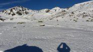 il grande pianoro nevoso a quota 2150 m. (26-12-2011)