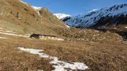 passando nei pressi dell'alpeggio di Rio Milanesio (26-12-2011)
