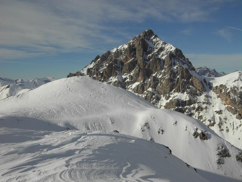 Roir Alp con dietro la Tete de Brequets.