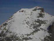 Rocca Blancia,pendio sommitale.