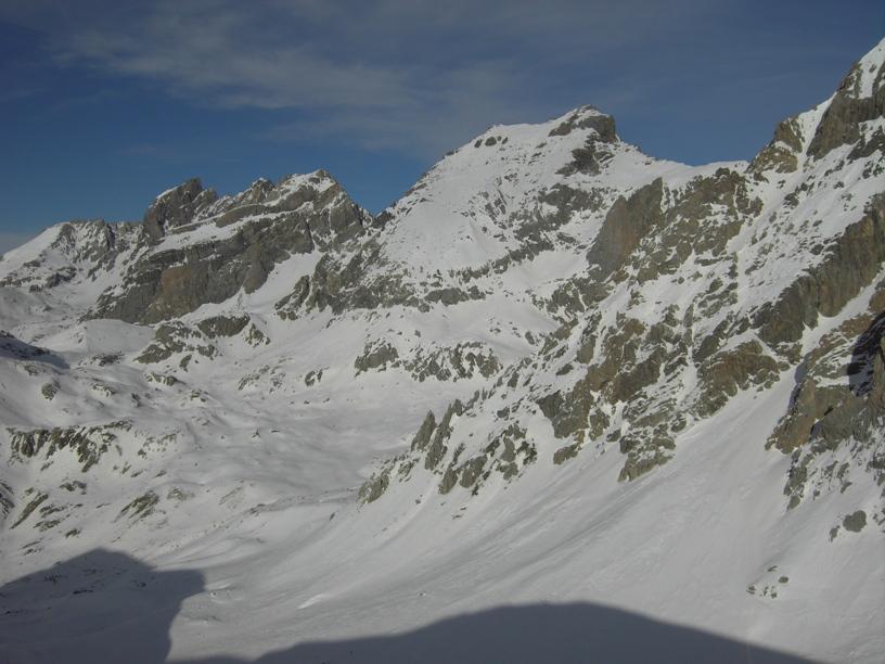 Da dx:R.Blancia,Buc di Nubiera,Brec di Chambeyron.