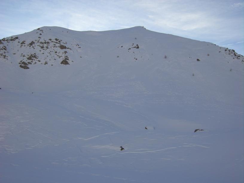 I pendii nord piu' ripidi del Roir Alp.