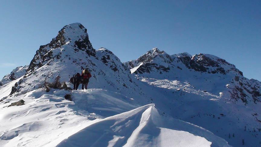 Croix (Col de la) da Mont Blanc 2011-12-27
