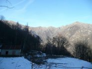 Rilievi valle di Ribordone da Bose