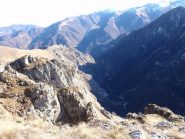 la selvaggia Valle Corsaglia    dalla cima