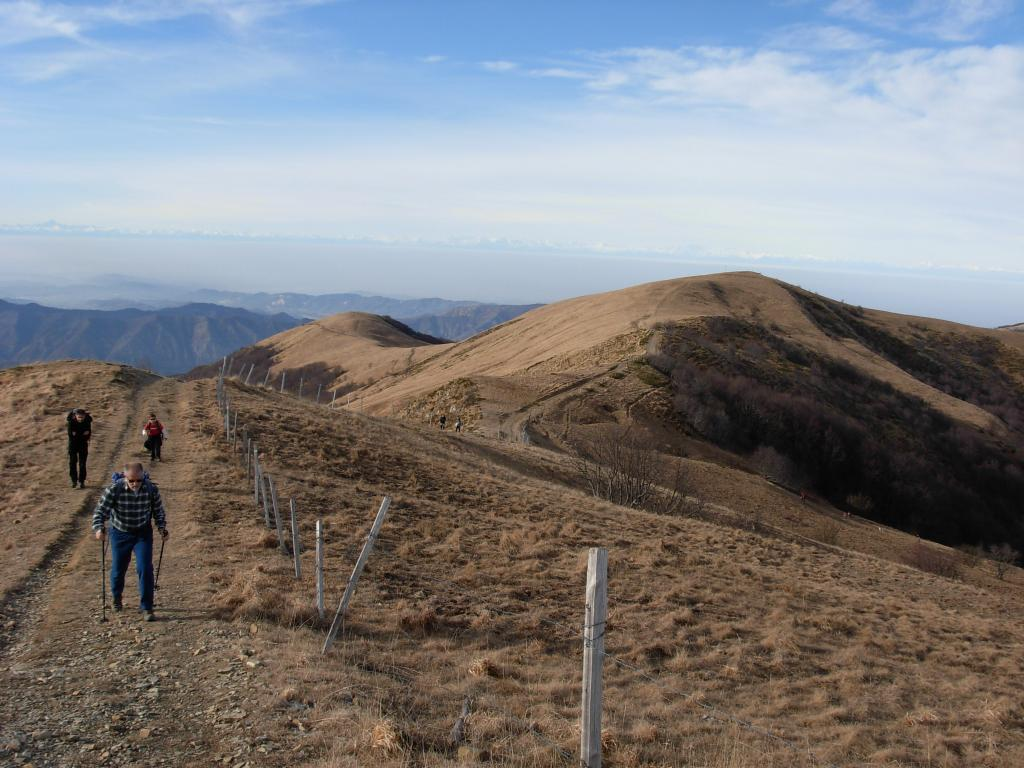 Ebro (Monte) da Caldirola per il Monte Panà 2012-01-01