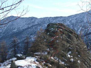 Ultimo tratto su roccia