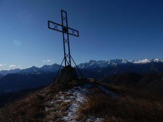 la croce della vetta