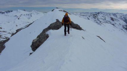 Manuela sale verso la cima ! (7-1-2012)