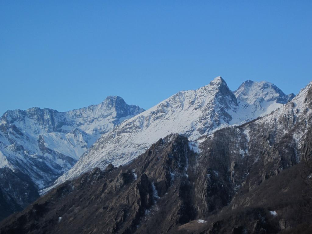 Le montagne della val d'Ala